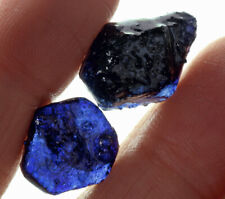20.2Ct Heated Blue Sapphire Facet Rough Specimen Glass Filled YBB7777