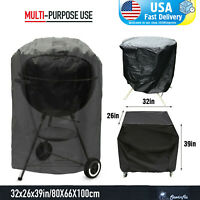 """BBQ Gas Grill Cover 39"""" Barbecue Waterproof Outdoor Heavy Duty Protection USA"""