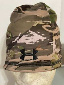 UNDER ARMOUR CAMO HUNT BEANIE REVERSIBLE NWT