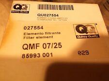 New OEM Quincy Part No. QMF 07/25 Filter Element QU027554