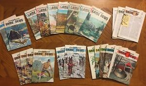 Lot of 23 1960s Pennsylvania Game News Issues Bird Covers