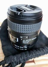 Nikon AF Micro Nikkor 60mm 1:2.8 D in good condition