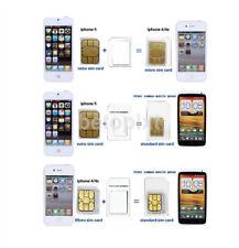 3 Pack SIM Adapter Converter Set of Nano SIM, Micro SIM & Standard SIM Adapters