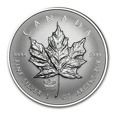 2014 1 oz Reverse Proof Silver Canadian Maple Leaf Coin - Chicago ANA Privy Mark