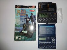 Vintage Casio BOSS SF4600BX Business Digital PDA Organizer +BONUS Sharp Electric