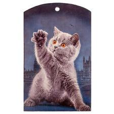 British Shorthair Cat Rectangular Wooden Cutting Board Water-Resistant 7x12 inch