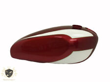 TRIUMPH T160 CHERRY AND WHITE PAINTED GAS FUEL TANK  Fit For
