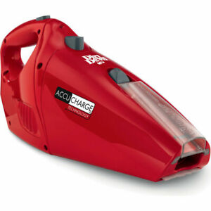 NEW DIRT DEVIL BD10045RED Accucharge 15.6 Volt Cordless Hand Vac FREE SHIPPING!!