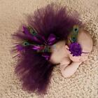 Newborn Headdress flower+Tutu Clothes Skirt Baby Girls Cute Photo Prop Outfits