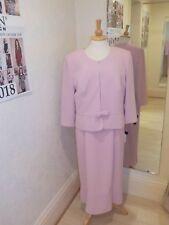 Frank Usher Pink  Dress and Jacket   size 16