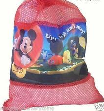 Disney Mickey Mouse Para Niños Niños nadar nadar Pvc cordón Mochila Escolar