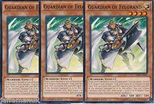 Set de jeu x 3 guardian de Felgrand - sr02-en004 - commun Yugioh