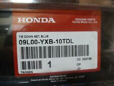 2002-2010 Honda Aquatrax Jet Ski Blue Tie Down Strap Kit 09L00-YXB-10TDL OEM New