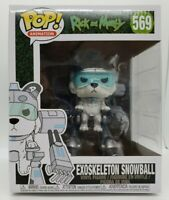 Funko Pop! Animation Rick And Morty #569 Exoskeleton Snowball 6 in Damaged