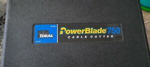IDEAL Electrical 35-078 PowerBlade 750 Cable Cutter Hard case Included
