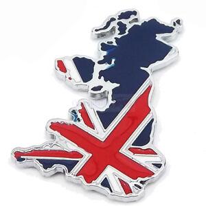 England UK Britain Land Flag Metal Hood Front Grille Grill Badge Emblem For Mini