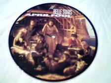 """BELLE STARS  - SWEET MEMORY - APRIL FOOL - 7"""" - STIFF RECORDS PICTURE DISC - £8"""