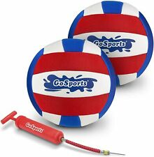 Pro Volleyball | Neoprene Pool Volleyball | 2 Pack Waterproof Volleyballs with B