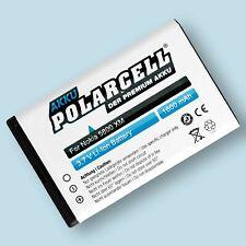 PolarCell Akku für Nokia X6 Lumia 520 530 Asha 200 201 302 X1-00 X1-01 Batterie