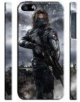 Civil War Winter Soldier Iphone 4s 5 5s 5c 6 6S 7 8 X XS Max XR 11 Pro Plus Case