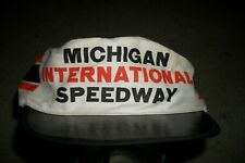 Vintage 80's Michigan International Speedway Painter Hat NASCAR