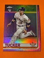 2019 Topps Chrome Kyle Tucker Pink Refractor Rookie Houston Astros RC #39 SP