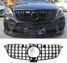 MERCEDES W166 ML GLE 2015 ONWARDS AMG GT PANAMERICANA GRILLE GRILL GLOSS BLACK