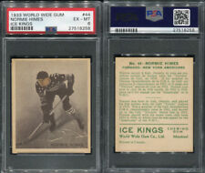 1933 WORLD WIDE GUM ICE KINGS #44 NORMIE HIMES PSA 6 (8258)