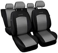 Sitzbezüge Sitzbezug Schonbezüge für VW Polo Hellgrau Sportline Komplettset