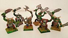 6 Guerreros Orcos. Armas a 2 manos. Orcos y Goblins - Warhammer Fantasys
