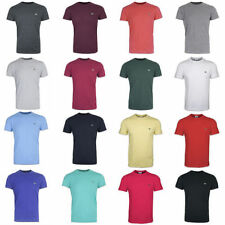 Lacoste Patternless Crew Neck Short Sleeve T-Shirts for Men