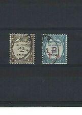 FRANCE, Timbres-taxe, YetT n° TT 61 et 64 oblitérés TBE, de 1927
