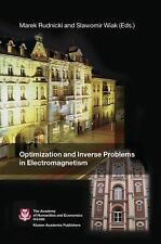 Optimization and Inverse Problems in Electromagnetism (2003, Hardcover)