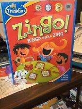 ThinkFun Zingo Bingo with a Zing Game New & Factory Sealed