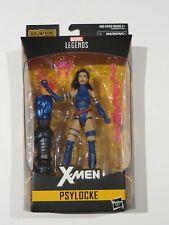 "Marvel Legends PSYLOCKE 6"" Action Figure X-MEN APOCALYPSE BAF Hasbro BLACK HAIR"