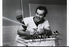 "Jack Nicholson autograph. 15""x10"" One Flew Over the Cuckoo's Nest signed photo."