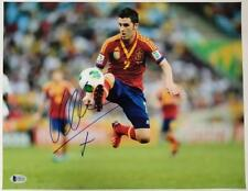DAVID VILLA Signed 11x14 Photo #1 Auto SPAIN Barcelona NYCFC ~ Beckett BAS COA