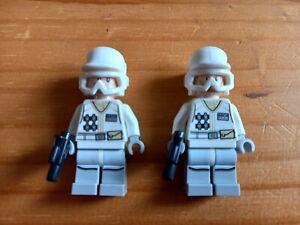 Lego Star Wars 2x Hoth Rebel Trooper Minifigures 75146