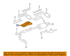 TOYOTA OEM 03-05 4Runner 4.7L-V8 Exhaust-Heat Shield 5832735050