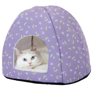 Petio SAILOR MOON Cat Igloo Dome Soft Bed Puppy Small Dog Usagi Rabbit Kawaii