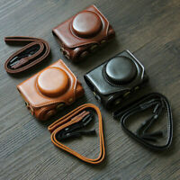 PU Leather Bag Case Pouch for Canon Powershot G1X G11 G12 G15 G16 G7X G9X G5X