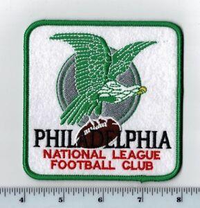 """Philadelphia Eagles 4"""" Patch 1960s Retro Throwback Old Logo -iron or sew on"""