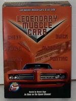 Legendary Muscle Cars DVD Box set Incomplete **Missing Mopar Muscle Cars Disc**