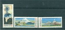 Russie - USSR 1965 - Michel n. 3138/40 - Volcans de Kamtchatka **