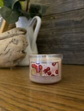 Slatkin / Bath and Body Works Candle 1.6 oz NEW Cranberry Pear Bellini Scented