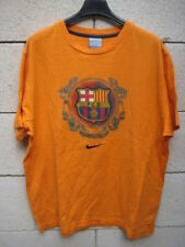 T-shirt BARCELONE maillot NIKE Barça shirt camiseta orange M