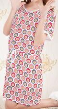 Hedgehog Women Short Sleeve Waist String Loose Dress b124 acc03546