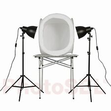 PhotoSEL PPC156 Studio Lighting Kit 170W 80cm Light Tent for Product Photography