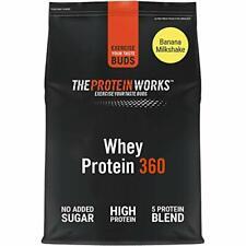 THE PROTEIN WORKS Whey Protein 360 Powder | High Protein Shake | No Added Sugar