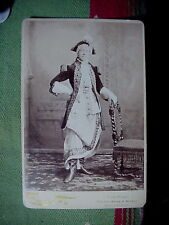 Cabinet Card Antique Occupational Photo of Agnes Herring Actor San Francisco